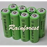 8 Piece Set AA Ni-mh 600mah 1.2v Rechargeable Batteries for solar lights
