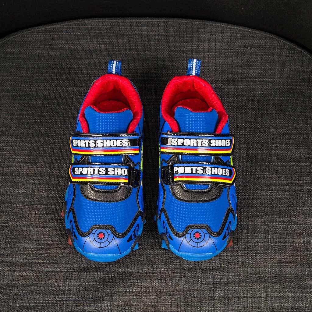 Mitlfuny Zapatos para beb/é Ni/ñas Ni/ños Antideslizantes de Suela con Goma Zapatitos Dinosaurio Dibujos Animados LED Luz Luminous Zapato de Deporte Primavera Verano Zapatillas para Correr Ni/ño 3-8 A/ños