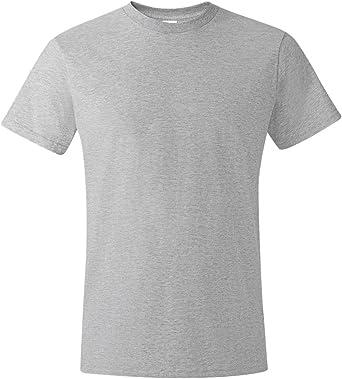 Hanes 4980 Camiseta 100% algodón Hilado en Anillos: Amazon.es: Ropa y accesorios