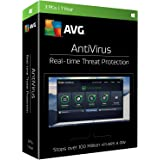 AVG Antivirus 2017, 3 PCs, 1 Year