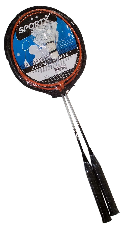 Ak Sport 0726130/SportX Set de b/ádminton Negro