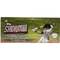 $168 » 2021 Topps Stadium Club Baseball Hobby Box (16 Packs/8 Cards: 2 Autos)
