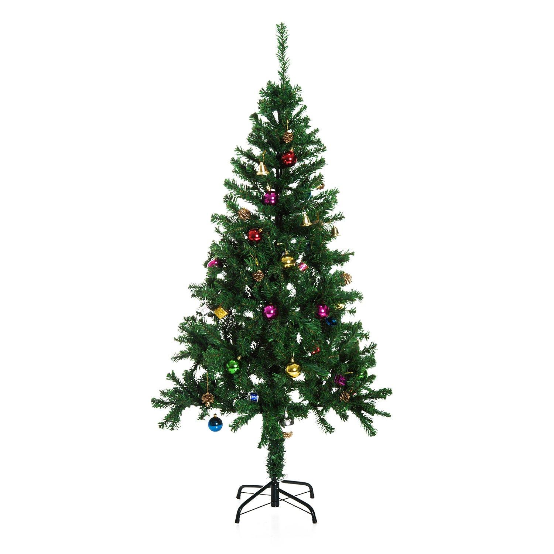 Árbol de Navidad  DECORACION INCLUIDA Pino Abeto x cm Ramas PVC
