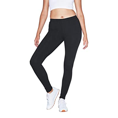 American Apparel Women's Stretch Terry Winter Legging at Amazon Women's Clothing store