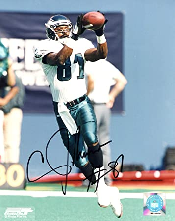 e7552faeea3 Shawn Jefferson Philadelphia Eagles Autographed Signed 8x10 Photo -  Certified Authentic