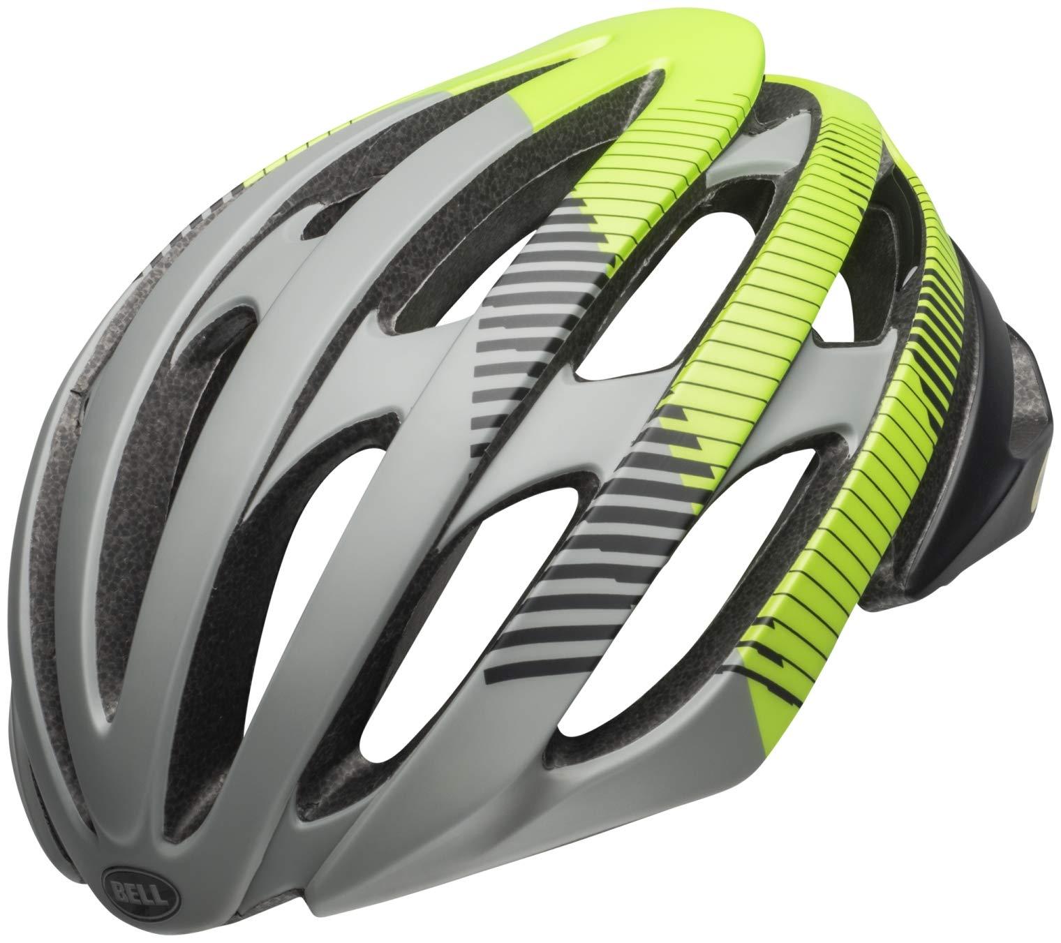 Bell Stratus MIPS Helmet Bluster Matte Dark Gray/Black/Lemon, L