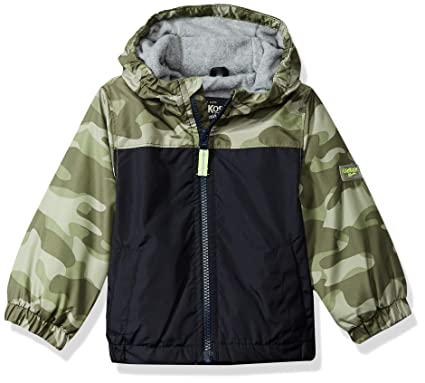 344bad8ed355 Amazon.com  OshKosh B Gosh Baby Boys Jersey-Lined Lightweight Jacket ...