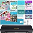 Silhouette Cameo 3 Limited Black Edition with Bluetooth, Auto Adjusting Cutting Blades, Vinyl Trimmer, 12x12 Mat, 110v-220v Power Cord, Warranty