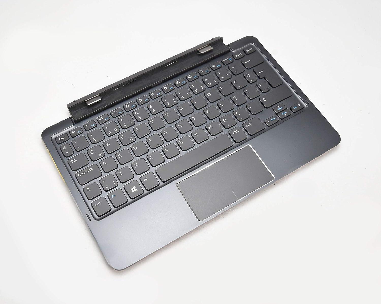New 71JH4 Genuine OEM Turkey Keyboard FOR Dell Venue 11 Pro Tablets 5130 7130 7139 7140 Keyboard W/Turkish QWERTY Docking Station Internal Battery Layout Model: K12A