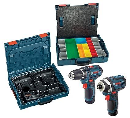 Amazon.com: Bosch 12-Volt iones de litio 2-combo Kit, Drill ...