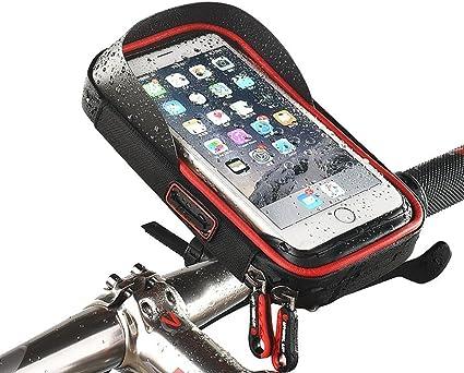 Sacoche Etui Etanche Support Guidon Universel Vélo Bicyclette Smartphone 167x105