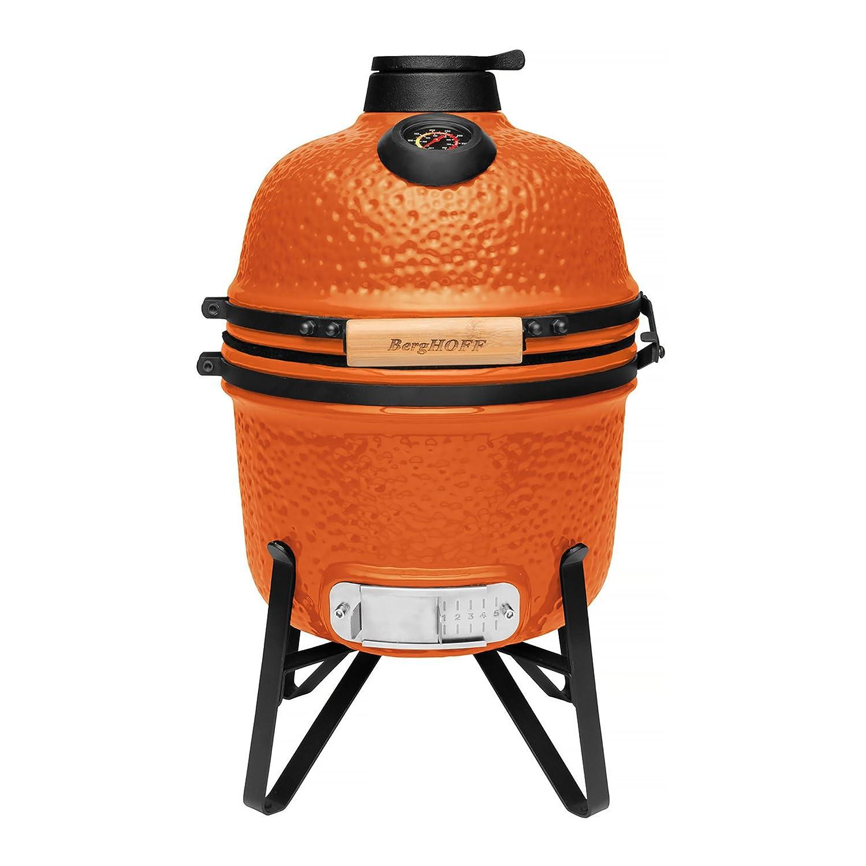 BergHOFF Ceramic BBQ and Oven, Bright Orange, Small 2415705