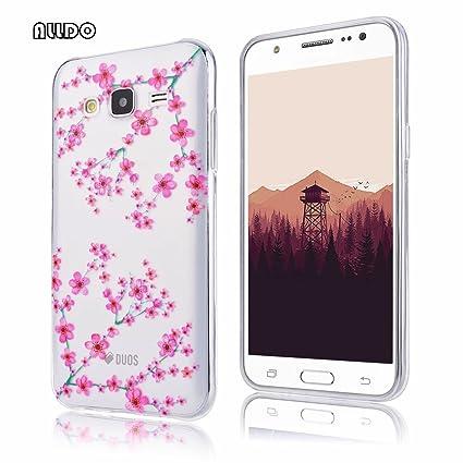 AllDo Funda Silicona para Samsung Galaxy J5 Carcasa Protectora Funda Transparente Claro Caso Suave TPU Soft Silicone Case Cover Bumper Funda Ultra ...