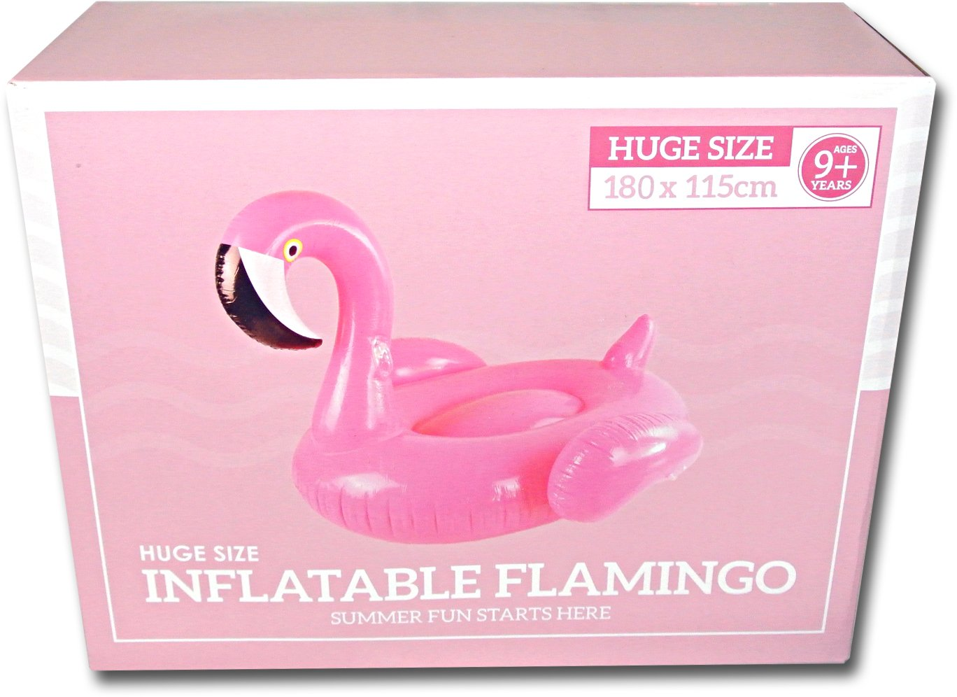 Riesiger aufblasbarer Flamingo Luftmatratzen. Aufblasbarer Flamingo Pool Floß Durch Integrity Co (X-Large)