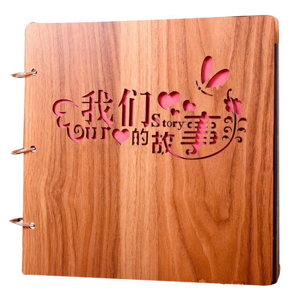 East Majik Wooden DIY Handmade Album