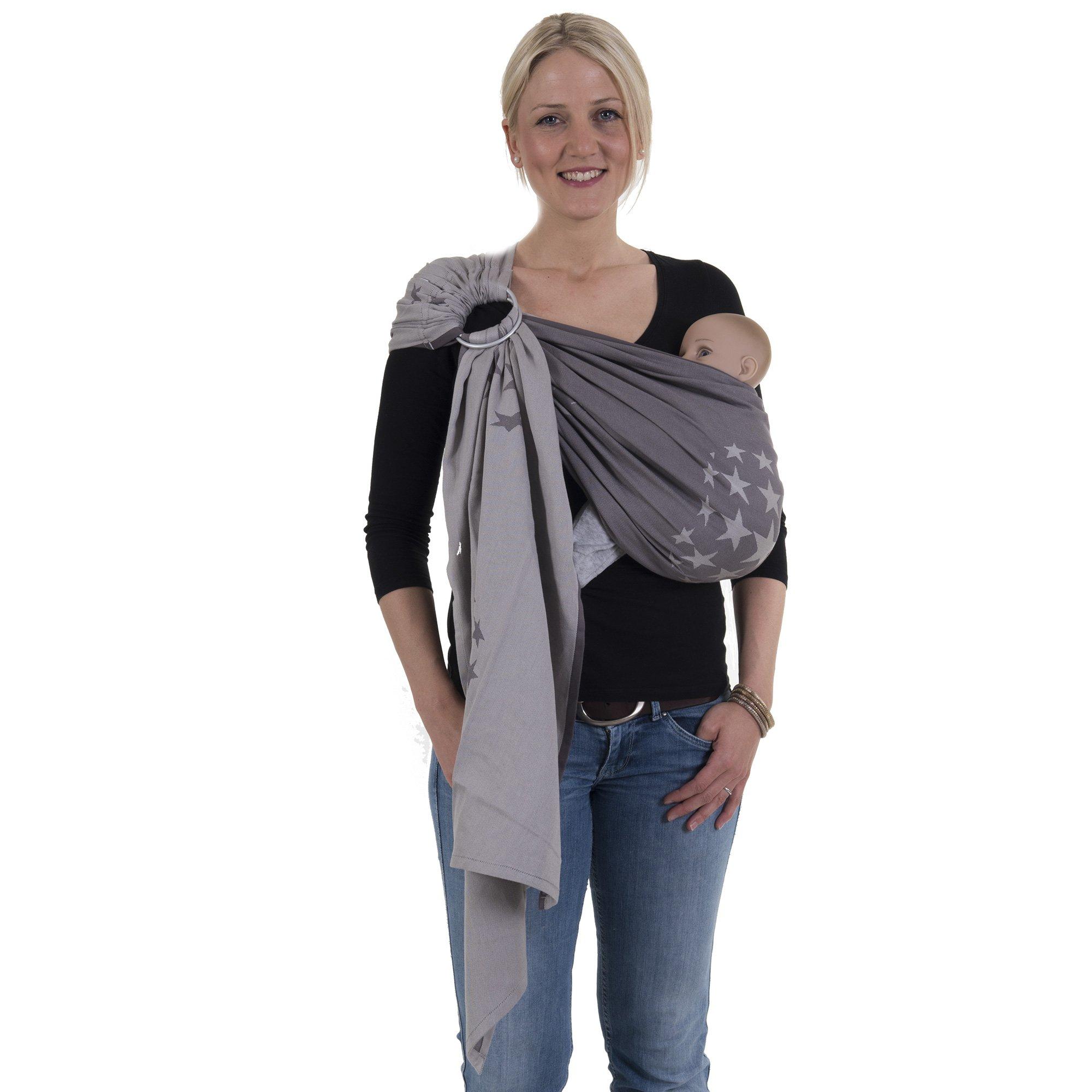 Echarpe de Portage pour transporter le Bébé ✮ Sac à dos Porte Bébé ✮ Echarpe  Sling ... 76d7fbfe5c4