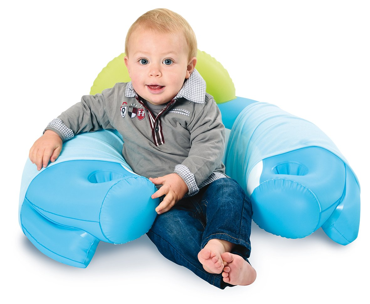 Smoby 110210 - Cotoons Baby Sitz mit Activity Tisch, blau: Amazon.de ...