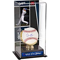 $229 Get Cody Bellinger Los Angeles Dodgers Autographed Baseball and 2017 Rookie of the Year Sublimated Display Case with Image - Fanatics Authentic…
