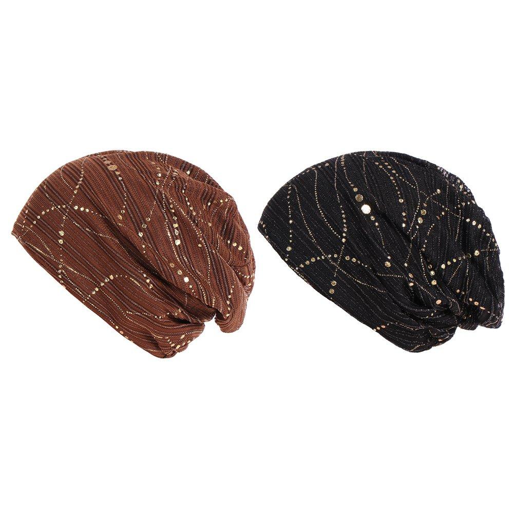 Women Hat Beanie Chemo Hat Cap Women's Beanie Hat Chemo Hat Cotton All-Matched Turbano