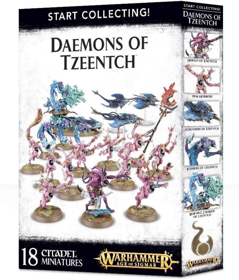 Games Workshop Warhammer AoS & 40k – Start Collecting! Daemons of Tzeentch