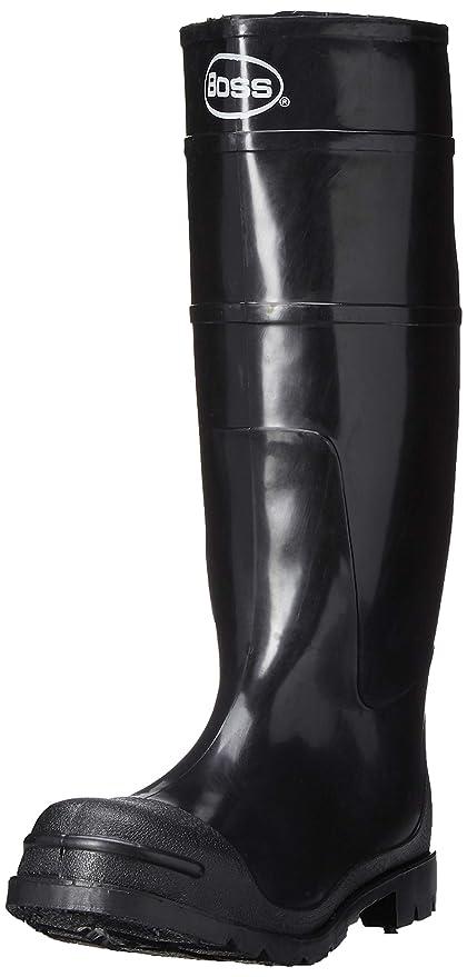 a46d7d813e8e2 Boss 2KP200108 Men's Black Rubber Boots, Size 8