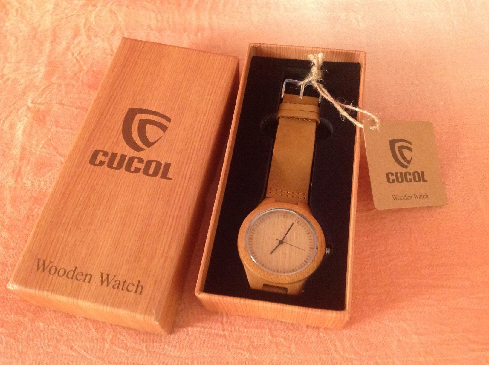 Recensioni e campioncini vari cucol orologio in legno for Orologio legno amazon