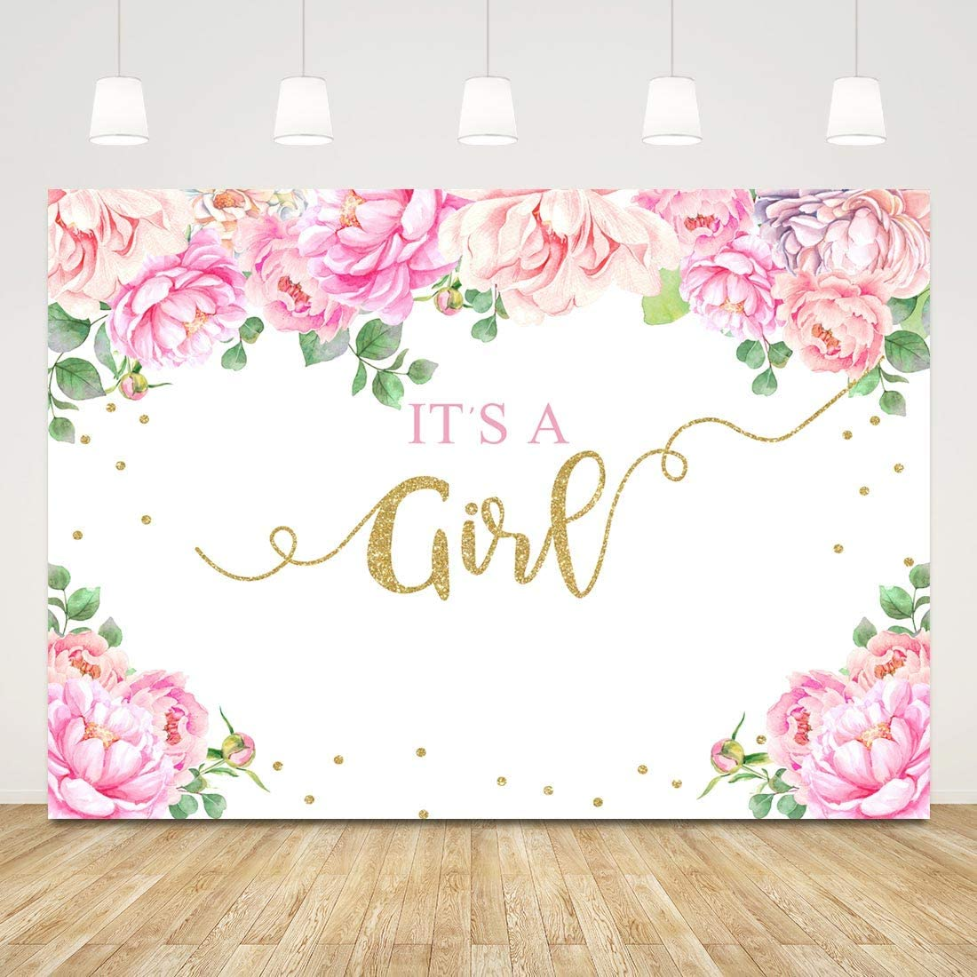8x12 FT Heels and Dresses Vinyl Photography Backdrop,Spring Inspired Floral Abstract Backdrop Pink Dress Shoes Bracelet Background for Baby Shower Bridal Wedding Studio Photography Pictures