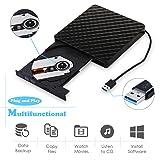External CD DVD Drive, MiluoTech USB 3.0 Protable