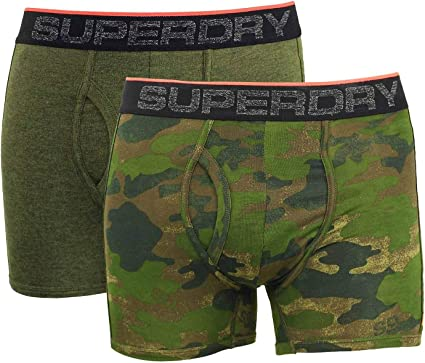 Superdry Tipped Sport Boxer Double Pack Hombre