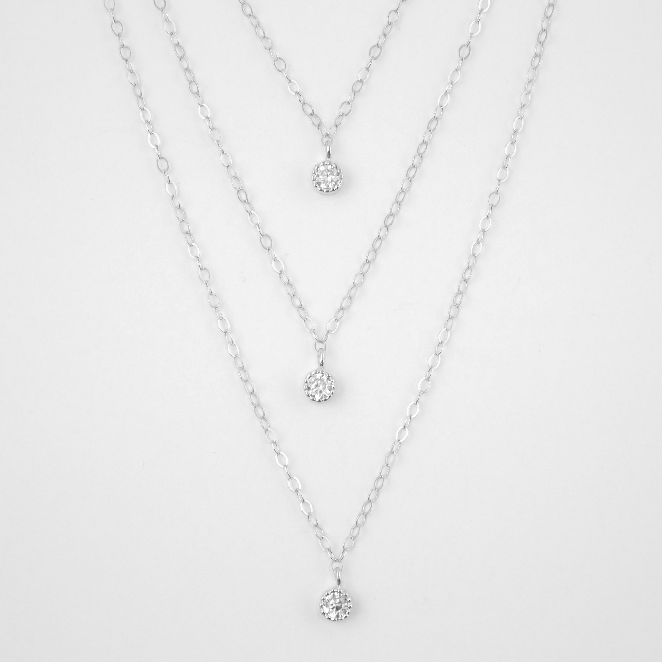 Triple Layered Necklace Set