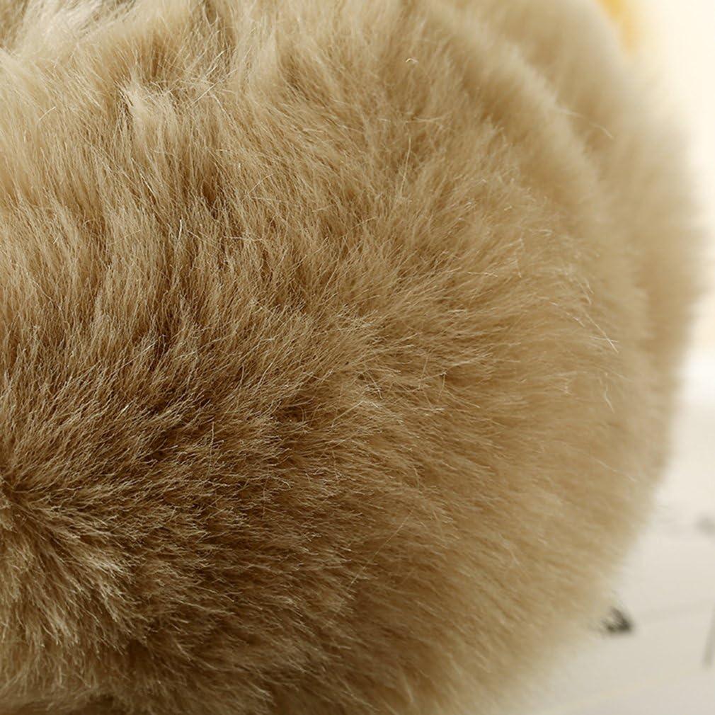 Cache Oreille Hiver Fille Forme d/étoile en Hiver Menitn Cache Oreille Fourrure Femme Homme Hiver Chaude Earmuff Peluche