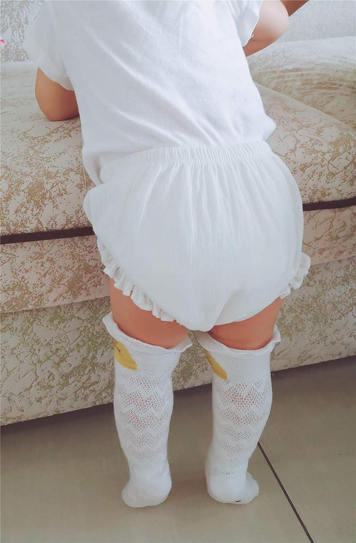 AYIYO 2T Bloomers Newborn Toddler Kids Cotton Linen Shorts Diaper Cover