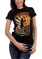 The Hunger Games - Girl On Fire Poster Juniors T-Shirt