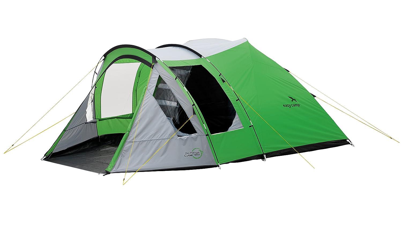 Easy Camp Cyber 500 - Tienda de campaña, Color Verde/Plateado, 5 Personas: Amazon.es: Deportes y aire libre
