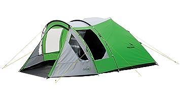 Easy Camp Cyber 500 – Tienda de campaña, Color Verde/Plateado, 5 Personas