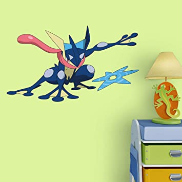 Fathead Peel And Stick Decals Pokemon Greninja Junior Wall Decal