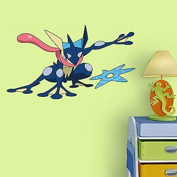Superior Fathead Peel And Stick Decals Pokemon Greninja Junior Wall Decal Part 25