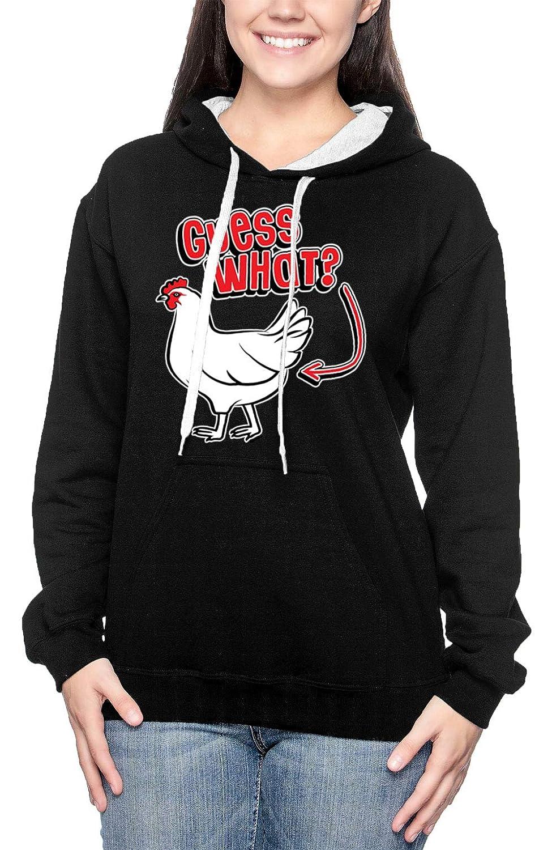 Chicken Butt Rhyme Funny Joke Unisex Hoodie Sweatshirt Guess What