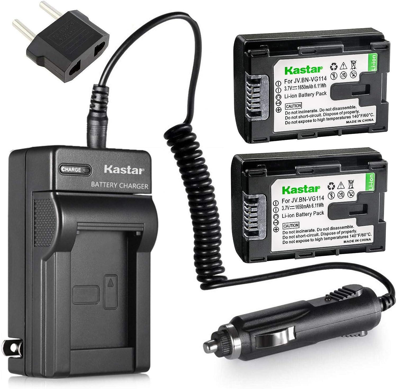 Batería 2400mah para JVC bn-vg108e gz-mg750au gz-mg980 gz-ms118 gz-ms215 gz-ms230