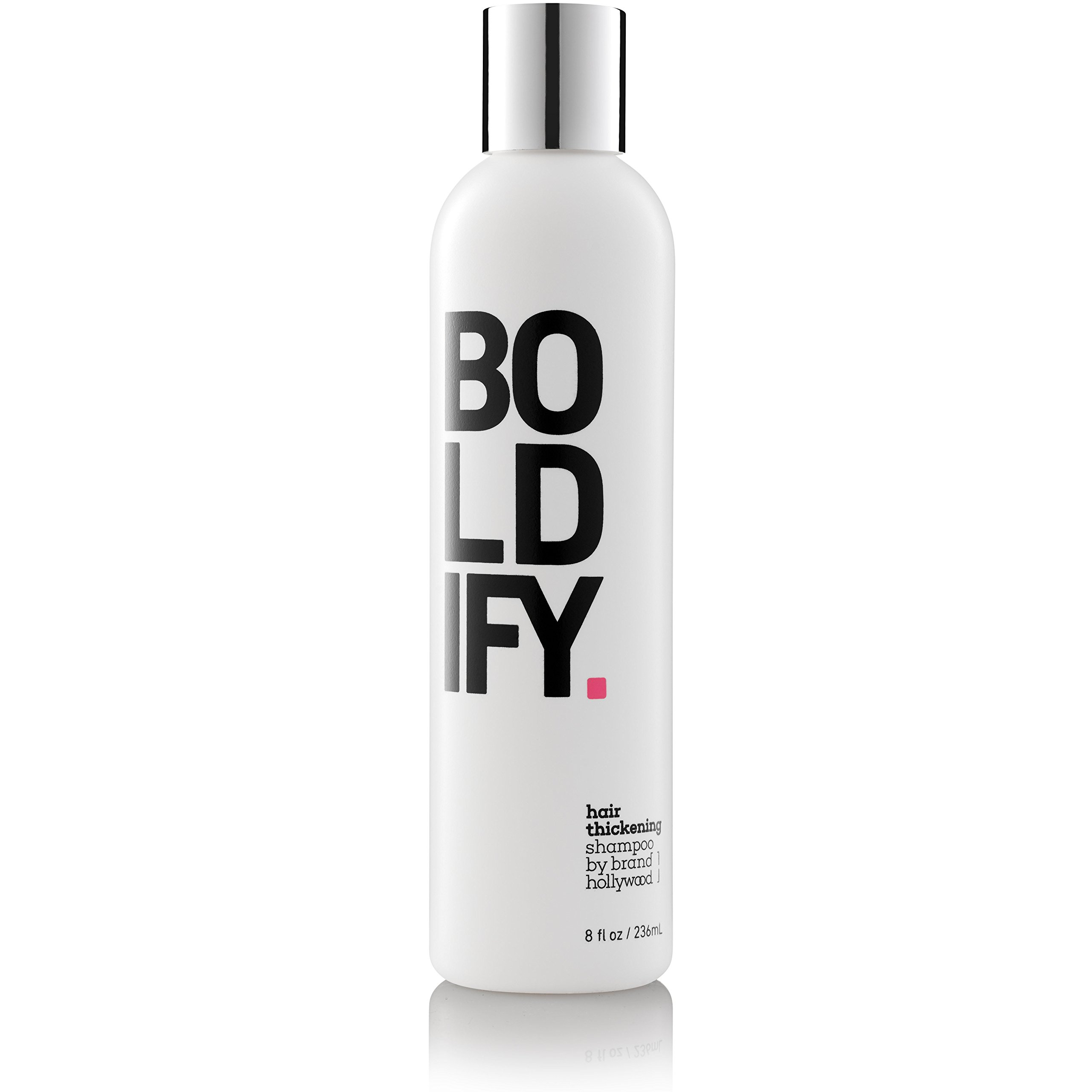 Hair Boost Shampoo with Biotin - Natural Hair Growth Complex Instantly Stimulates Thicker, Fuller Hair - Cruelty & Sulfate Free Hair Thickening Products for Women + Men - Boldify 8oz by Boldify