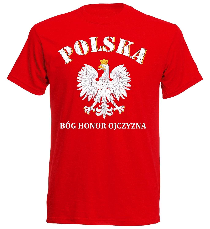 Polen POLSKA Kinder SC NC-02 T-Shirt Trikot WM 2018 Fußball