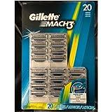 Gillette Mach3 Cartridges, 20 Count