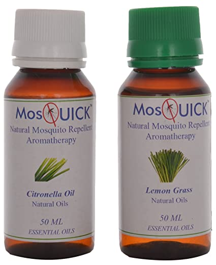 Mosquick Natural Mosquito Repellent Oil Citronella 50ml Lemon