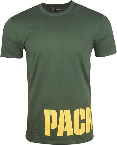 New Era NFL Wrap Around tee Grepac Camiseta Green Bay Packers Hombre