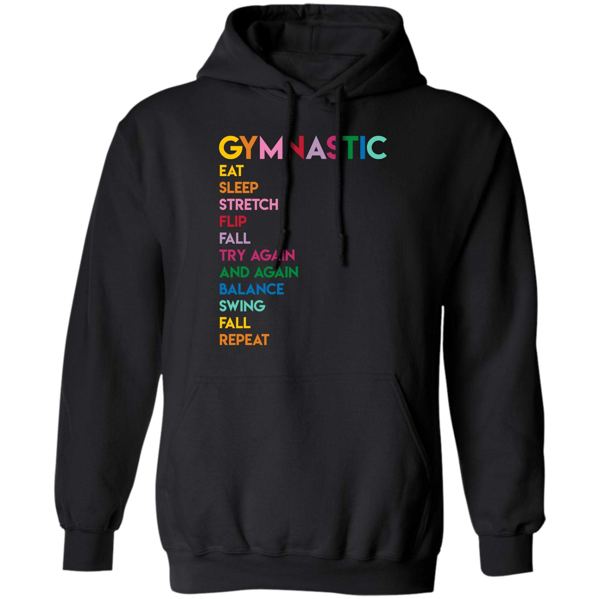Eat Sleep Gymnastics Repeat Gift T Shirt