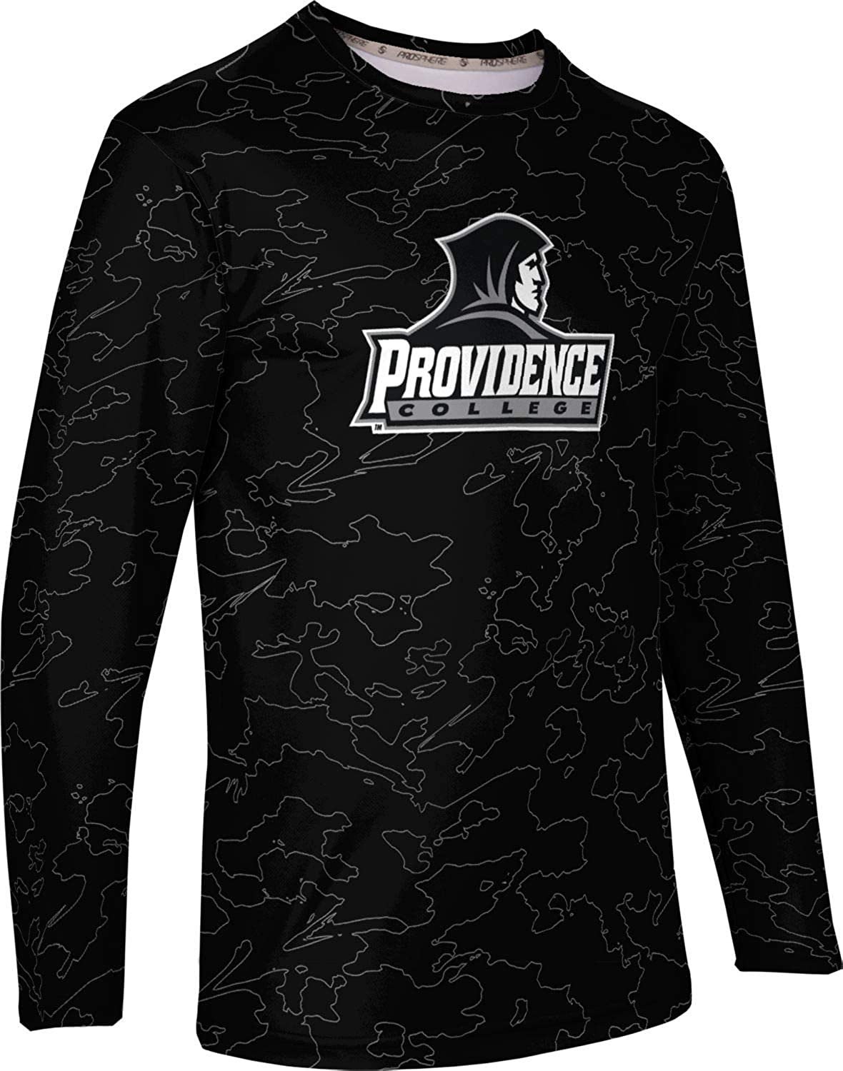 ProSphere Providence College Mens Long Sleeve Tee Topography