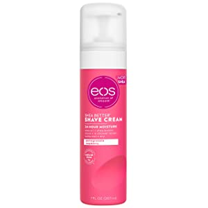 eos Ultra Moisturizing Shave Cream - Pomegranate Raspberry | 24 Hour Moisture | 7 fl oz.