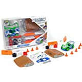 Modarri Car Kit with Road Accessories, Green, Blue