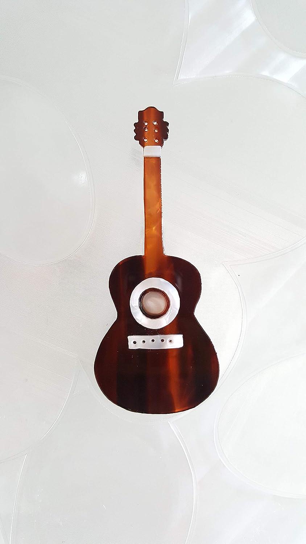 Broche guitarra española inspiración flamenca.Artesanía. Regalo original