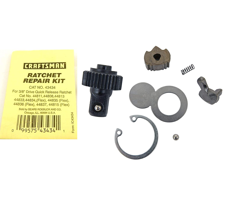 3/8'' Ratchet Rebuild Kit Set Compatible w/Craftsman 4XXX